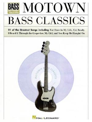 Motown Bass Classics By Hal Leonard Publishing Corporation (COR)